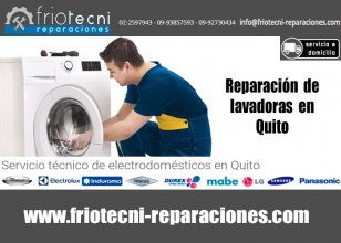 Reparación de lavadoras, secadoras y electrodomésticos en Quito