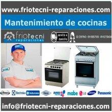 Mantenimiento de cocinas en la ciudad de Quito.