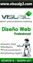 Diseño de Paginas Web : Visual g3