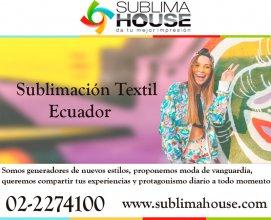 Sublimaciones textiles en Ecuador