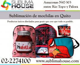 Subliminados para maleteria en Quito