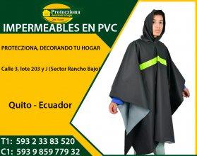 Impermeables en PVC